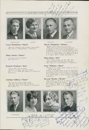 Page 13, 1930 Edition, Barron High School - Bear On High Yearbook (Barron, WI) online yearbook collection