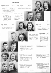 Page 16, 1942 Edition, Barron High School - Bear On High Yearbook (Barron, WI) online yearbook collection