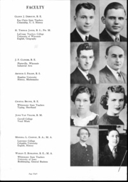 Page 9, 1942 Edition, Barron High School - Bear On High Yearbook (Barron, WI) online yearbook collection