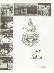 Page 5, 1954 Edition, Barron High School - Bear On High Yearbook (Barron, WI) online yearbook collection