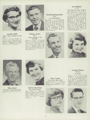 Page 19, 1955 Edition, Barron High School - Bear On High Yearbook (Barron, WI) online yearbook collection