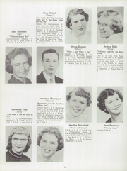 Page 22, 1955 Edition, Barron High School - Bear On High Yearbook (Barron, WI) online yearbook collection
