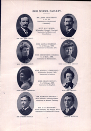 Page 15, 1906 Edition, Janesville High School - Phoenix Yearbook (Janesville, WI) online yearbook collection