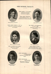 Page 16, 1906 Edition, Janesville High School - Phoenix Yearbook (Janesville, WI) online yearbook collection