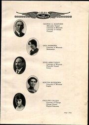 Page 15, 1921 Edition, Janesville High School - Phoenix Yearbook (Janesville, WI) online yearbook collection