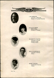 Page 16, 1921 Edition, Janesville High School - Phoenix Yearbook (Janesville, WI) online yearbook collection