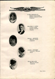 Page 17, 1921 Edition, Janesville High School - Phoenix Yearbook (Janesville, WI) online yearbook collection