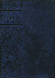 Page 1, 1934 Edition, Janesville High School - Phoenix Yearbook (Janesville, WI) online yearbook collection