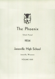 Page 7, 1934 Edition, Janesville High School - Phoenix Yearbook (Janesville, WI) online yearbook collection