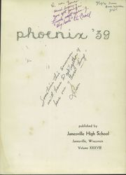 Page 5, 1939 Edition, Janesville High School - Phoenix Yearbook (Janesville, WI) online yearbook collection