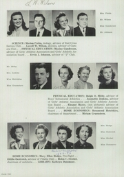 Page 14, 1945 Edition, Janesville High School - Phoenix Yearbook (Janesville, WI) online yearbook collection