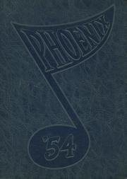 Janesville High School - Phoenix Yearbook (Janesville, WI) online yearbook collection, 1954 Edition, Page 1