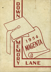 1954 Edition, Winneconne High School - Magenta Yearbook (Winneconne, WI)