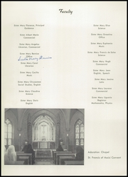 Page 16, 1949 Edition, St Marys Academy - Troubadour Yearbook (Milwaukee, WI) online yearbook collection