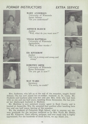 Page 15, 1946 Edition, Columbus High School - Cardinal Yearbook (Columbus, WI) online yearbook collection