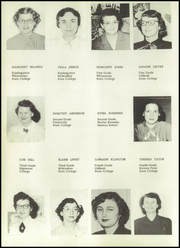 Page 12, 1952 Edition, Columbus High School - Cardinal Yearbook (Columbus, WI) online yearbook collection