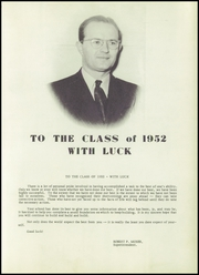 Page 9, 1952 Edition, Columbus High School - Cardinal Yearbook (Columbus, WI) online yearbook collection