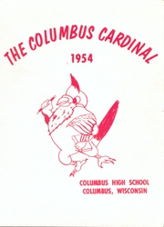 Page 1, 1954 Edition, Columbus High School - Cardinal Yearbook (Columbus, WI) online yearbook collection