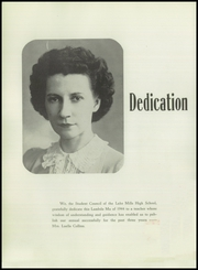 Page 6, 1944 Edition, Lake Mills High School - Lambda Mu Yearbook (Lake Mills, WI) online yearbook collection