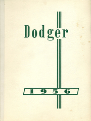 Page 1, 1956 Edition, Dodgeville High School - Dodger Yearbook (Dodgeville, WI) online yearbook collection