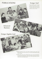 Page 17, 1956 Edition, Dodgeville High School - Dodger Yearbook (Dodgeville, WI) online yearbook collection