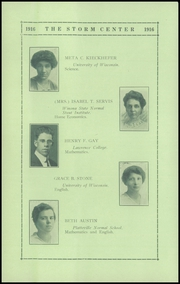 Page 14, 1916 Edition, Lancaster High School - Golden Arrow Yearbook (Lancaster, WI) online yearbook collection