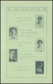 Page 15, 1916 Edition, Lancaster High School - Golden Arrow Yearbook (Lancaster, WI) online yearbook collection