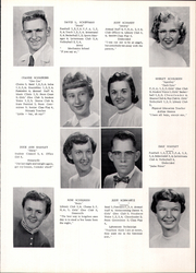 Page 17, 1957 Edition, Lancaster High School - Golden Arrow Yearbook (Lancaster, WI) online yearbook collection