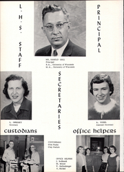 Page 6, 1957 Edition, Lancaster High School - Golden Arrow Yearbook (Lancaster, WI) online yearbook collection