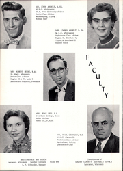 Page 8, 1957 Edition, Lancaster High School - Golden Arrow Yearbook (Lancaster, WI) online yearbook collection