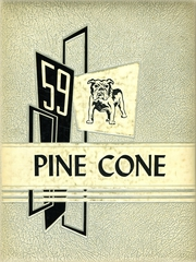 1959 Edition, Chetek High School - Pine Cone Yearbook (Chetek, WI)