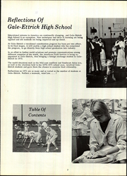 Page 6, 1971 Edition, Gale Ettrick Trempealeau High School - Arrowhead Yearbook (Galesville, WI) online yearbook collection