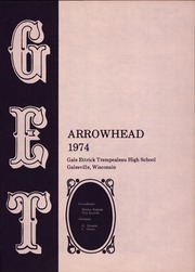Page 5, 1974 Edition, Gale Ettrick Trempealeau High School - Arrowhead Yearbook (Galesville, WI) online yearbook collection