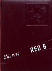 1954 Edition, Brodhead High School - Red B Yearbook (Brodhead, WI)