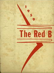 1959 Edition, Brodhead High School - Red B Yearbook (Brodhead, WI)