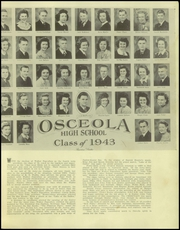 Page 5, 1943 Edition, Osceola High School - Chieftain Yearbook (Osceola, WI) online yearbook collection