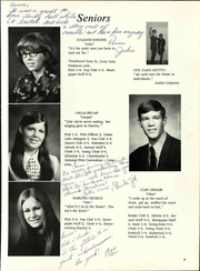 Page 15, 1971 Edition, Osceola High School - Chieftain Yearbook (Osceola, WI) online yearbook collection