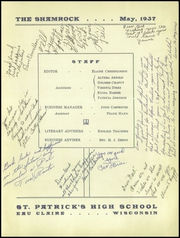 Page 3, 1937 Edition, Regis High School - Chi Rho Yearbook (Eau Claire, WI) online yearbook collection