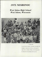 Page 7, 1975 Edition, West Salem High School - Neshonoc Yearbook (West Salem, WI) online yearbook collection