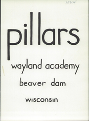 Page 7, 1954 Edition, Wayland Academy - Pillars Yearbook (Beaver Dam, WI) online yearbook collection