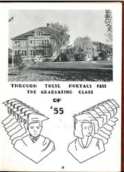 Page 9, 1955 Edition, Crandon High School - Cardinal Yearbook (Crandon, WI) online yearbook collection