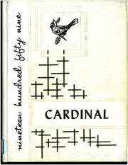 1959 Edition, Crandon High School - Cardinal Yearbook (Crandon, WI)