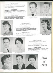 Page 15, 1959 Edition, Crandon High School - Cardinal Yearbook (Crandon, WI) online yearbook collection
