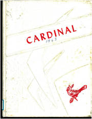1963 Edition, Crandon High School - Cardinal Yearbook (Crandon, WI)