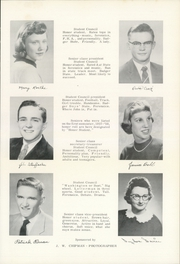 Page 15, 1958 Edition, Fennimore High School - Voyager Yearbook (Fennimore, WI) online yearbook collection