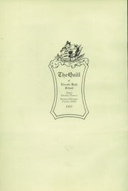 Page 6, 1927 Edition, Lincoln High School - Quill Yearbook (Milwaukee, WI) online yearbook collection