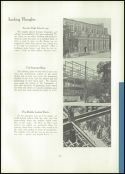 Page 17, 1935 Edition, Lincoln High School - Quill Yearbook (Milwaukee, WI) online yearbook collection