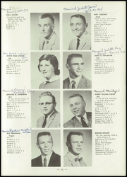 Page 17, 1959 Edition, Darlington Community High School - Pekatonia Yearbook (Darlington, WI) online yearbook collection