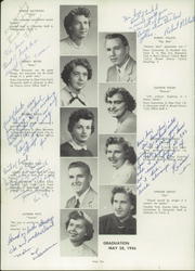 Page 14, 1956 Edition, Coleman High School - Les Adieu Yearbook (Coleman, WI) online yearbook collection