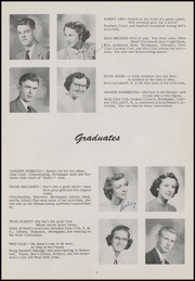 Page 13, 1953 Edition, Bonduel High School - Bear Book Yearbook (Bonduel, WI) online yearbook collection